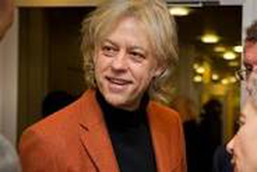 Bob Geldof  - (speech only)