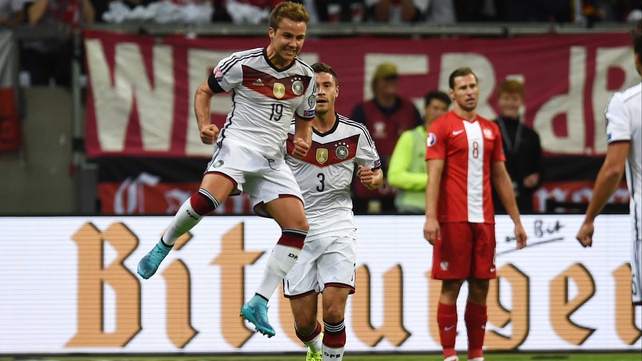 Goetze and Schweinsteiger to miss out for Germans