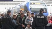 A train with 500 people onboard arrives in Germany