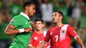 Cyrus Chrstie scored his first international goal against Gibraltar, but is expected to lose his place to the returning Seamus Coleman