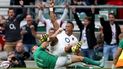 England scored two first-half tries as they enjoyed the better of the opening exchanges at Twickenham