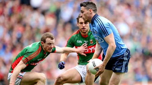 Paddy Andrews scored five points when Dublin beat Mayo in the All-Ireland semi-final replay