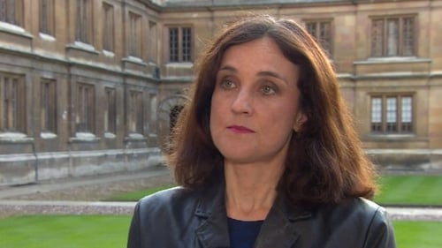 Northern Ireland Secretary Theresa Villiers said dissidents want to target officers from the PSNI, army and prison service