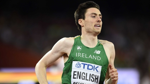 Mark English finished second at the Flame Games