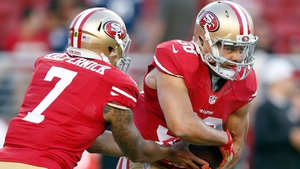 Jarryd Hayne has earned a place as a running back for the San Francisco 49ers
