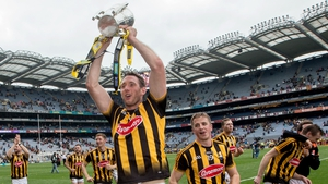 Michael Fennelly with the Liam MacCarthy Cup after Kilkenny beat Galway in the 2015 final