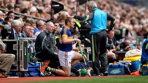 The former All Star making his return after cancer treatment as a substitute in last year's All-Ireland semi-final