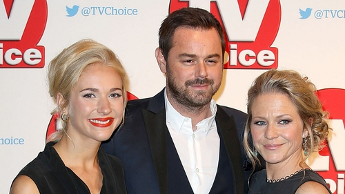 EastEnders stars Maddie Hill, Danny Dyer and Kellie Bright