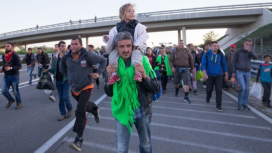 Refugees - Two Extremes of European Response