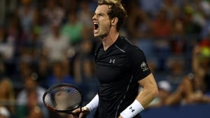 Andy Murray during his defeat to Kevin Anderson