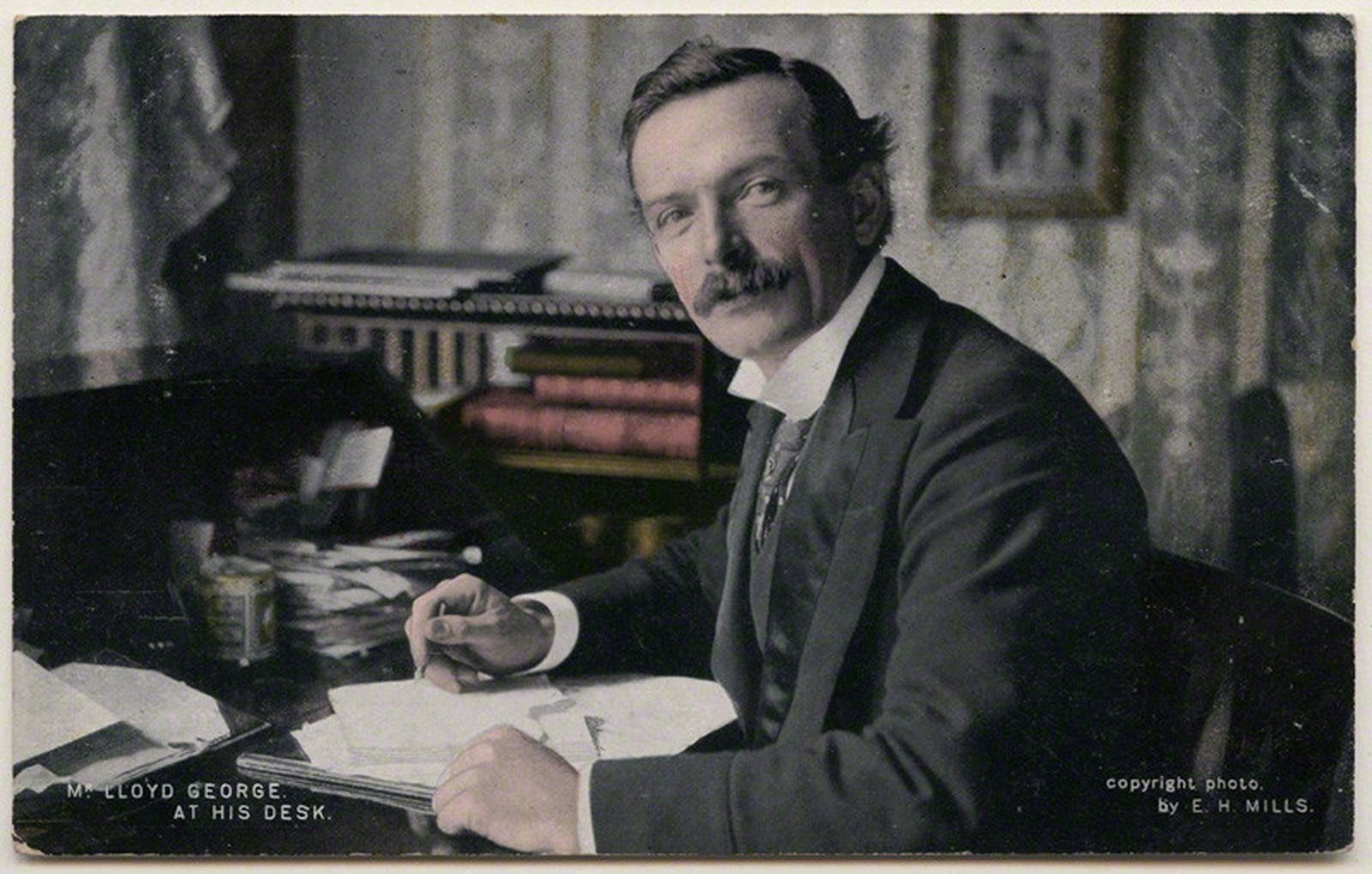 Image - David Lloyd George. The Prime Minister announced the new policy on 10 December 1920