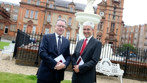 Dalata Hotel Group's CEO Pat McCann and deputy CEO Dermot Crowley