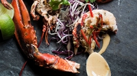 Chuchi Whole Lobster - A chargrilled whole lobster.