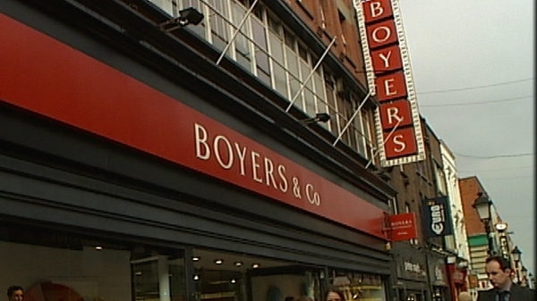 The owners of Arnotts announced that Boyers will close next January