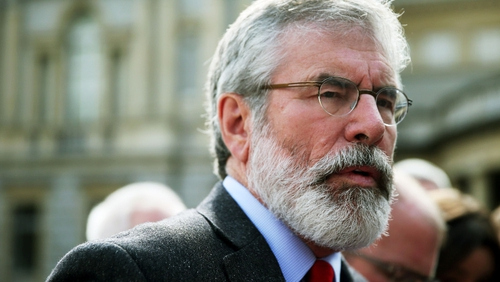 The Sinn Féin leader said the centenary of 1916 presented an opportunity for change