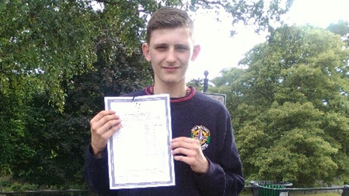 Carlos studied nine subjects for his exams, sitting five higher level and four ordinary level papers.