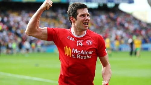 Sean Cavanagh was taken to hospital