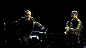 Bono and The Edge at the Ziggo Dome in Amsterdam on Monday - They've found a way to come home Photo: Paul Bergen