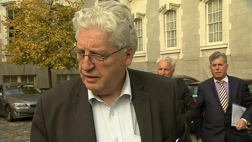 SDLP party leader Dr Alasdair McDonnell met Enda Kenny in Dublin today