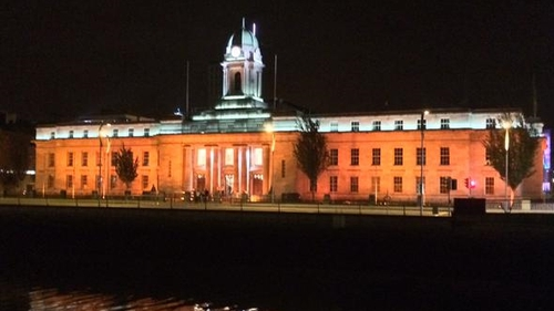 Cork City Hall lights up to support the initiative