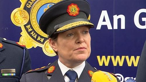 Coimisinéir anGharda Síochána,Nóirín O'Sullivan.