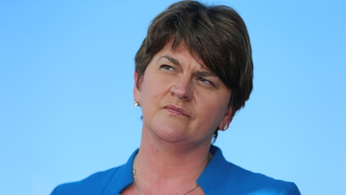 Arlene Foster is the only DUP member to put forward nomination papers to replace retiring Peter Robinson