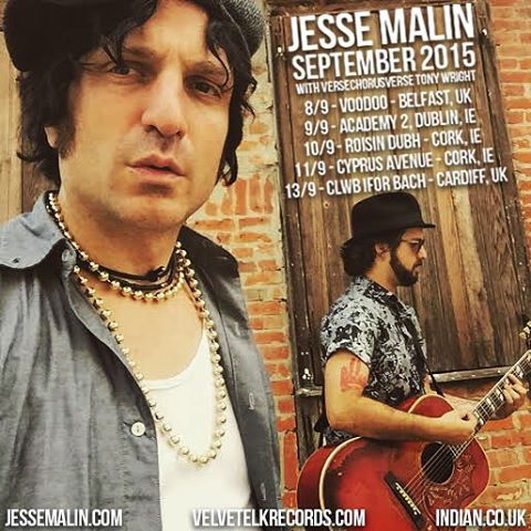 Jesse Malin in session