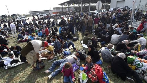 EU ministers expected to agree on a voluntary refugee relocation scheme
