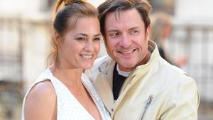 Simon and Yasmin Le Bon pictured in June
