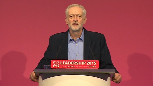 Jeremy Corbyn - New Labour Leader in UK