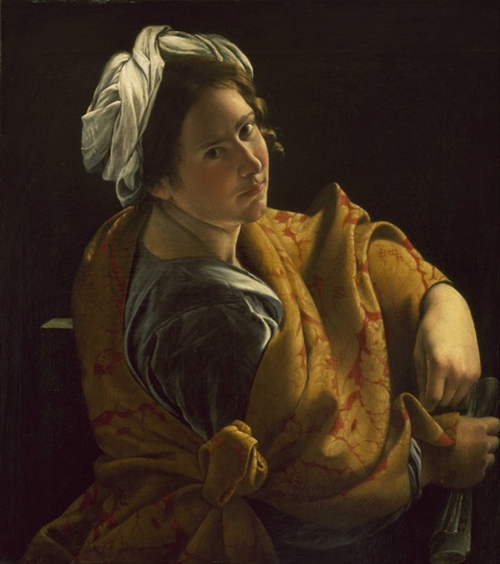 Orazio Gentileschi - Portrait of a Young Woman as a Sibyl