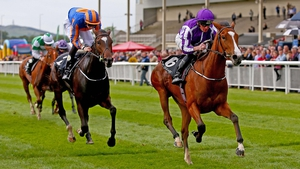 Minding defeats Ballydoyle in the Moyglare Stud Stakes at the Curragh