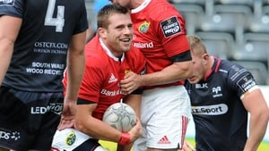 CJ Stander crashed over the whitewash at the death for Munster after sustained pressure