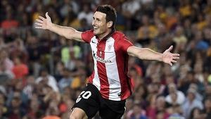 Aritz Aduriz scored two for Bilbao