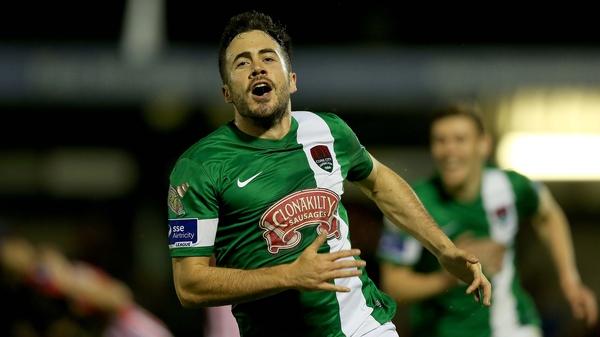 Ross Gaynor opened the scoring for Cork