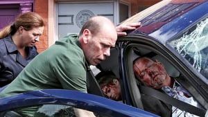 Pierce tells Hughie they have no choice but to get the injured duo out of the car
