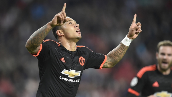 Memphis Depay has only featured once for Man United since being taken off against Arsenal on 4 October