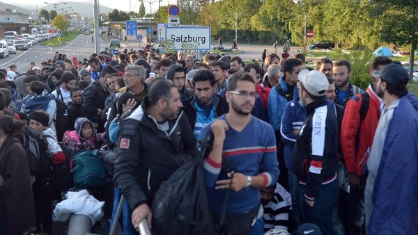 Austria accepted 90,000 migrants last year