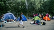 Clashes between migrants and police on EU border