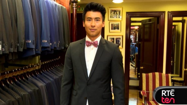 RTÉ LifeStyle's Leslie Leung gets kitted out for the debs