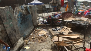 Bombings occurred in the heart of the Iraqi capital