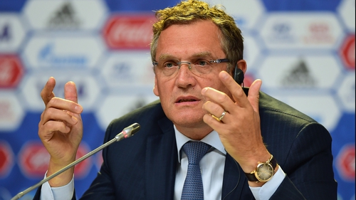 Jerome Valcke has been suspended for the last 90 days