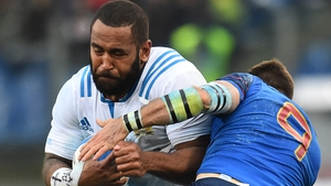 Samuela Vunisa vowed not to try to emulate Parisse's lynchpin style