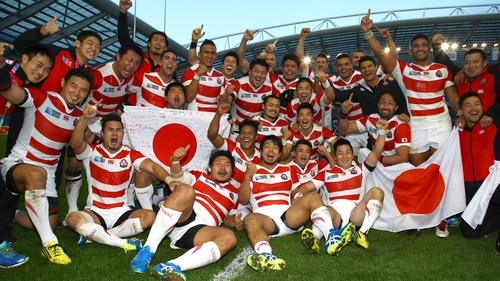 Japan have been shortlisted for World Rugby's Team of the Year Award