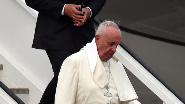 Pope Francis isvisiting three cities during his stay