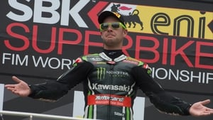Jonathan Rea finished off an eventful weekend with a win at  Lausitzring