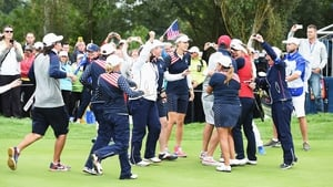 USA secured an unlikely Solheim Cup victory in September