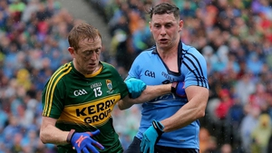 Philly McMahon and Colm Cooper battle in the All-Ireland final