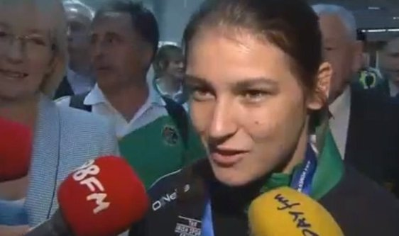 Katie Taylor Returns Home