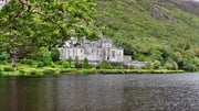 Kylemore Abbey, Galway, which features in the Tourism Ireland TV ad campaign, 'Fill Your Heart with Ireland'